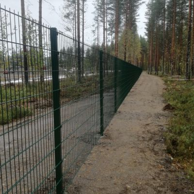 Rantakylän liikuntahalli aluesuojaus